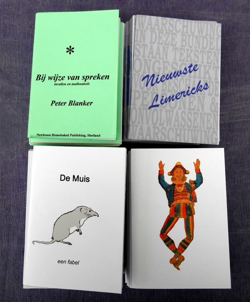 kleine boekjes 4x